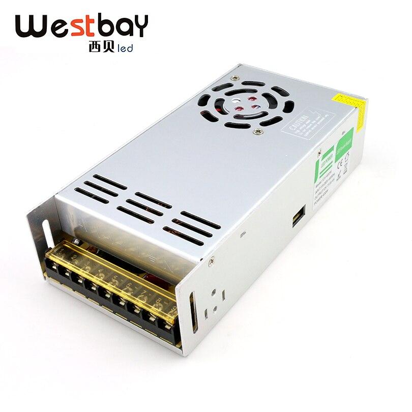 Westbay 41.6A 500 W LED Driver haute qualité 12 V transformateur d'alimentation 110 V à 12 V adaptateur de commutation en aluminium adaptateur d'alimentation