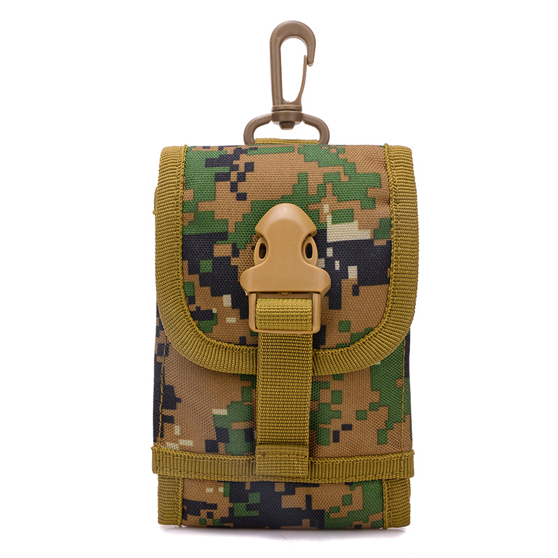 Új forró többfunkciós kis kapacitású táskák Férfi álcázás deréktáskák Molle hadsereg övtáska férfi Fanny Pack 9.5 * 14 CM nagykereskedelem