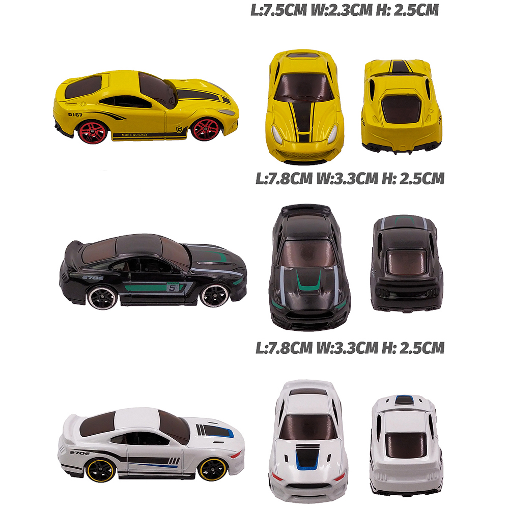 Image 5 - 12 Metal Toy Cars 12in1 Super Value Alloy Diecast Toy Vehicles Model Truck Race Car Play Set 12 Mini Cars for Boys Gift for Kids-in Diecasts & Toy Vehicles from Toys & Hobbies