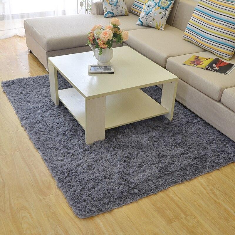 Tapis d'épaississement en peluche 200*300 CM pour salon et chambre tapis et tapis antidérapants modernes tapis de sol pour chambre d'enfants - 4