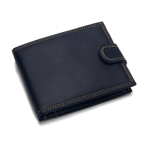 Fashion Hasp Short Men Wallet