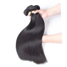 Перуанские прямые волосы 1 Комплект сапфир продукты волос 100% Человеческие волосы Комплект предложения Природный Цвет человеческих плетение волос