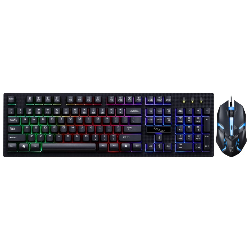 G20 USB Wired Keyboard and Mouse Combo RGB LED Backlit for pc Gamers Laptop Desktop Computer