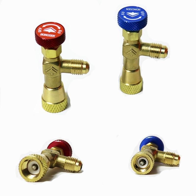 R410a r22 klimaanlage plus flüssigkeit sicherheitsventil hause klimaanlage werkzeuge teile klimaanlage reparatur und fluorid