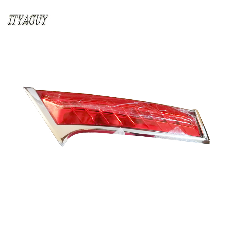 1set drl for Nissans Xtrail X-trail X trail 2014 2015 2016 LED DRL rear bumper tail light signal Light fog lamp reflector