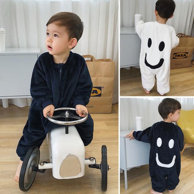4eedb33fac Children Clothing Winter Flannel Onesies Pajamas Sleeper For Baby Boys  Girls Blanket Sleepers Sleepwear Sleeping Bag One Piece