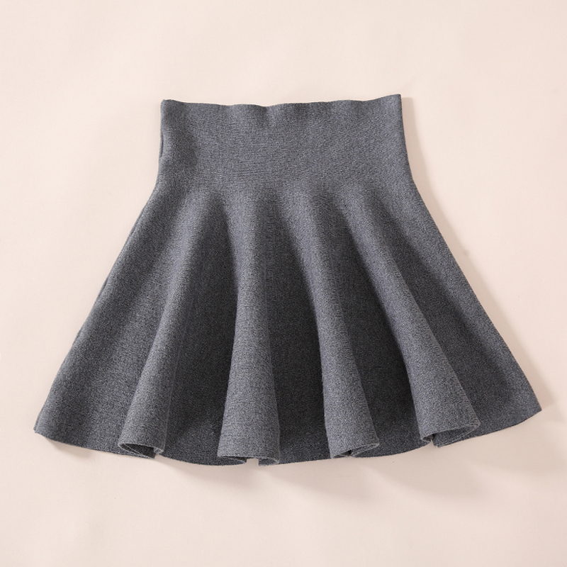 8b395e7bcf83 Sexy Women Skirt Fashion Fall Winter Skirts High Waist Pleated Skirt Black  Red Skater Skirt For Women-in Skirts from Women's Clothing on  Aliexpress.com ...
