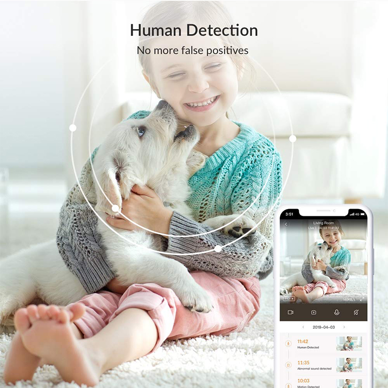 Image 2 - YI Smart Home Camera 3 AI Powered IP Security Surveillance System Indoor House Cam with Human Detection Two Way Audio Monitor-in Surveillance Cameras from Security & Protection