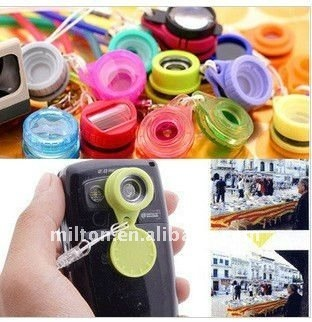 Ultra popular Jelly Lens for mobile phone/12 styles of mini Jelly Lens/wide angle lens for phone and compact digital camera