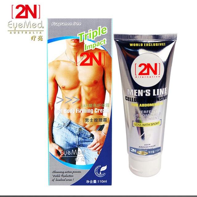 O Envio gratuito de new MEN'S 2N creme muscular forte queima de gordura anti celulite emagrecimento creme gel para os músculos abdominais perda de peso Do Produto
