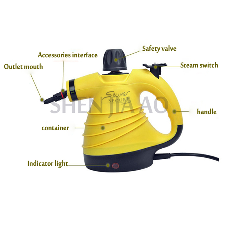 High temperature hand held pressure steam cleaning/cleaner Appliances kitchen range hood air conditioner household Pakistan