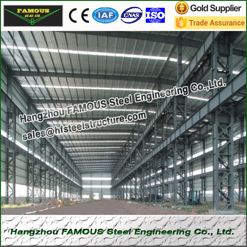 Wide Used Industrial Hot Galvanized Steel Structure Construction And Contractor