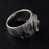 Импорт Таиланд Silver Eagle мужские кольца