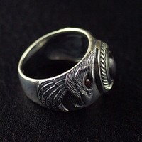 Thailand imports Silver Eagle Mens Ring