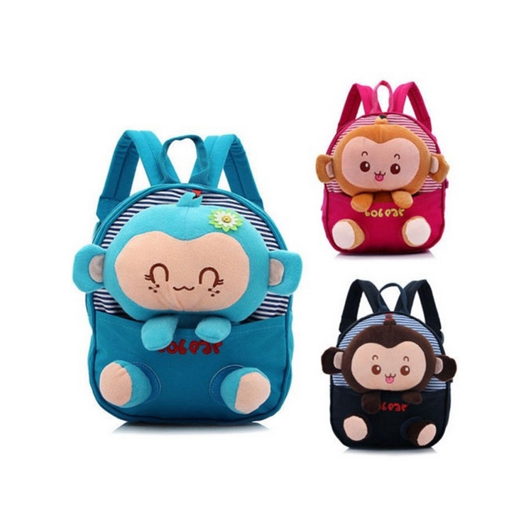 dace7da150f8 HUIMENG Bear Small School Backpacks Kids Baby School Bags Animal Monkey  Backpack For Girls Boys Kindergarten