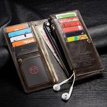 Funda para Huawei Honor 20, funda de piel auténtica con cremallera para Huawei Honor 20 Pro