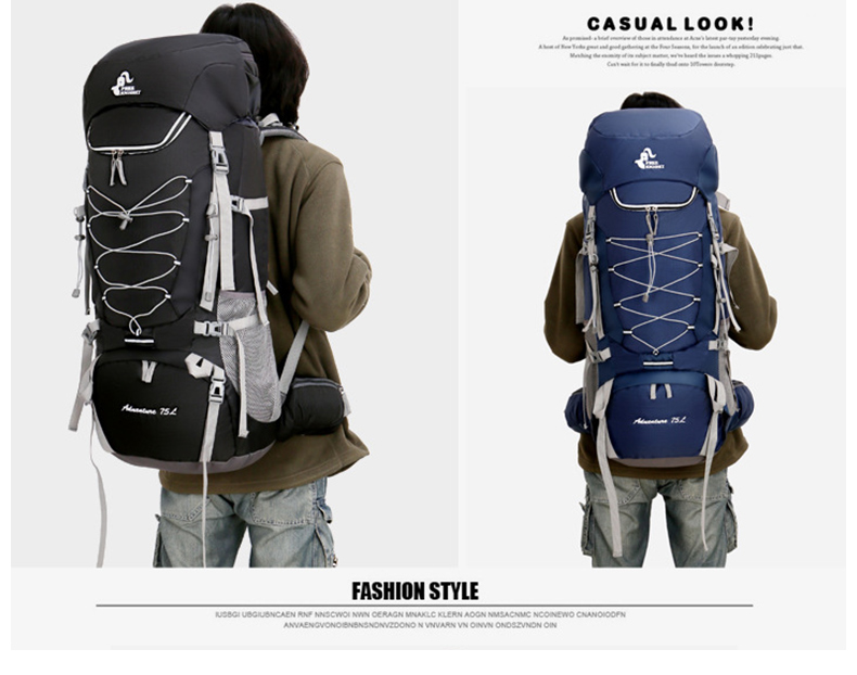 Mochilas escal.
