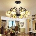 Европейский Средиземноморский потолочный светильник в пасторальном стиле  люстра для гостиной  освещение для ресторана