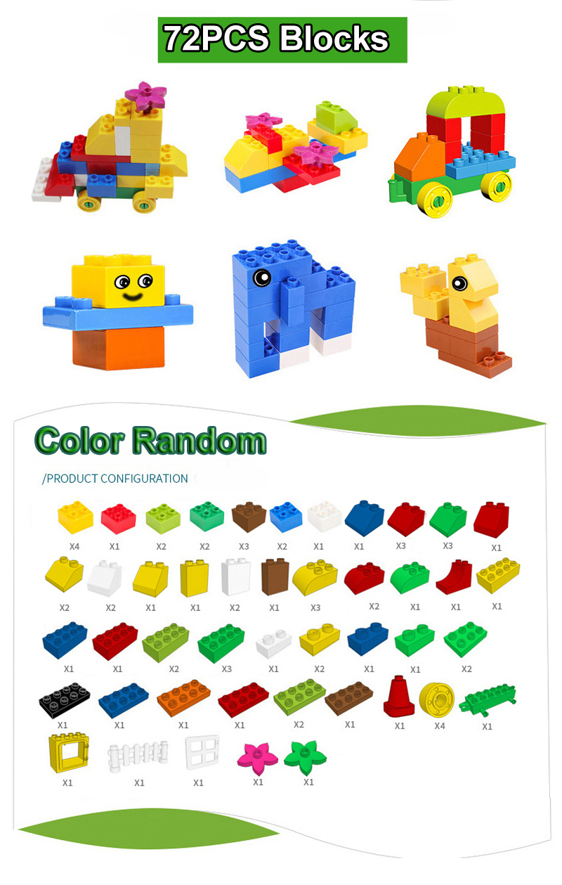 presente adesivo colorido tijolos a granel com