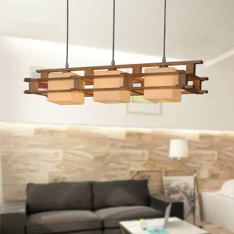 A1 simple japanese pendant lights new creative wooden dining room a1 simple japanese pendant lights new creative wooden dining room lamp room bar bedroom lamp led solid wood mz426632 in pendant lights from lights aloadofball Images