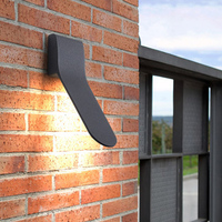 IN JUICY Modern Outdoor Waterproof Staircase Wall Lamp LED Exterior Courtyard Corridor Wall Light Balcony Garden Wall Sconce