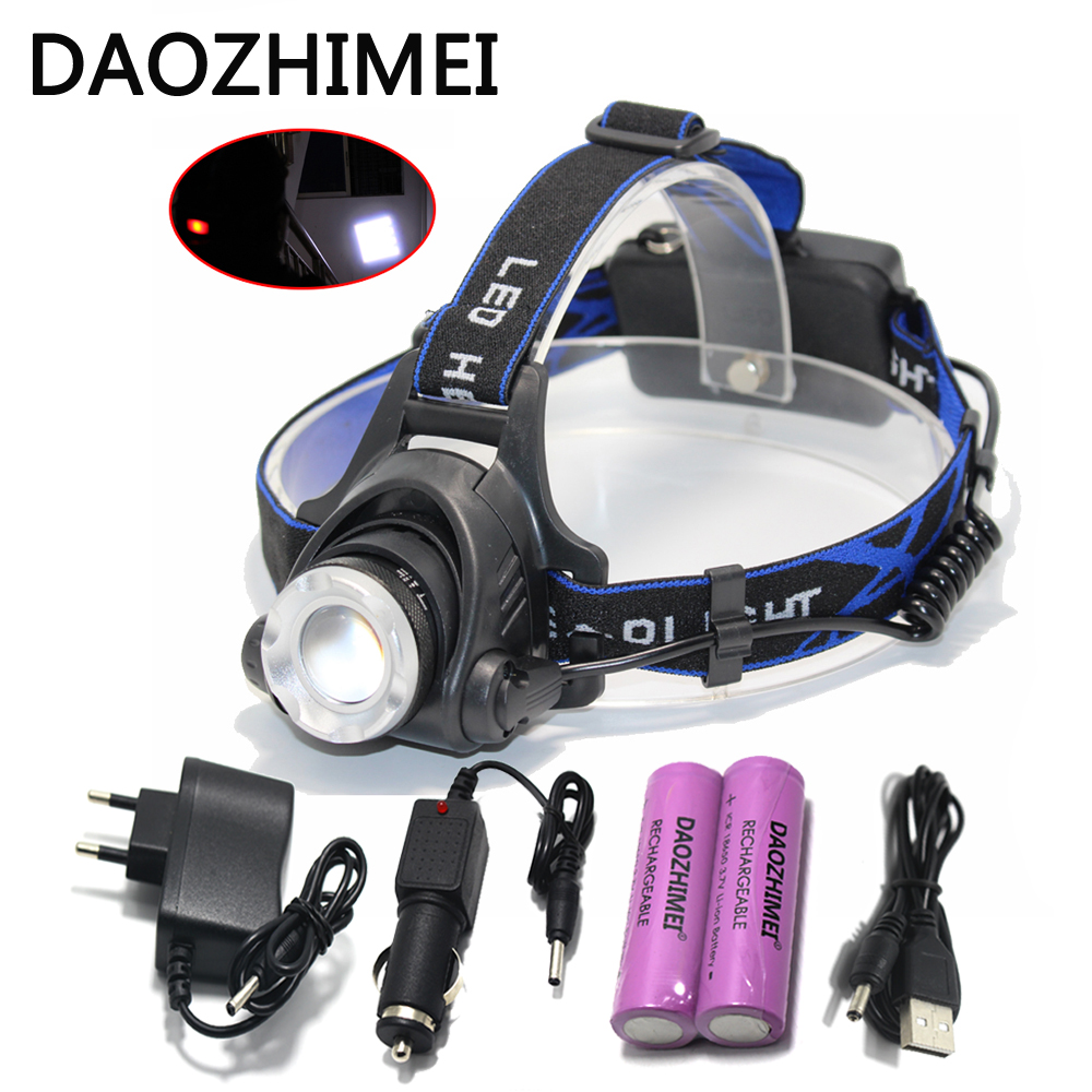 Led Headlight Headlight CREE XML T6 XM L L2 Head lamp Zoom ...