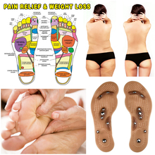 2pcs/Pair High-Quality Acupressure-Slimming Insoles Eight-gr