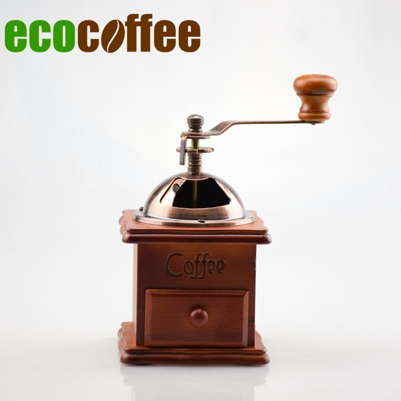 grinder manual 1PC Free Shipping grinder manual Eco Coffee Manual Coffee Grinder Coffee Bean Mills Food