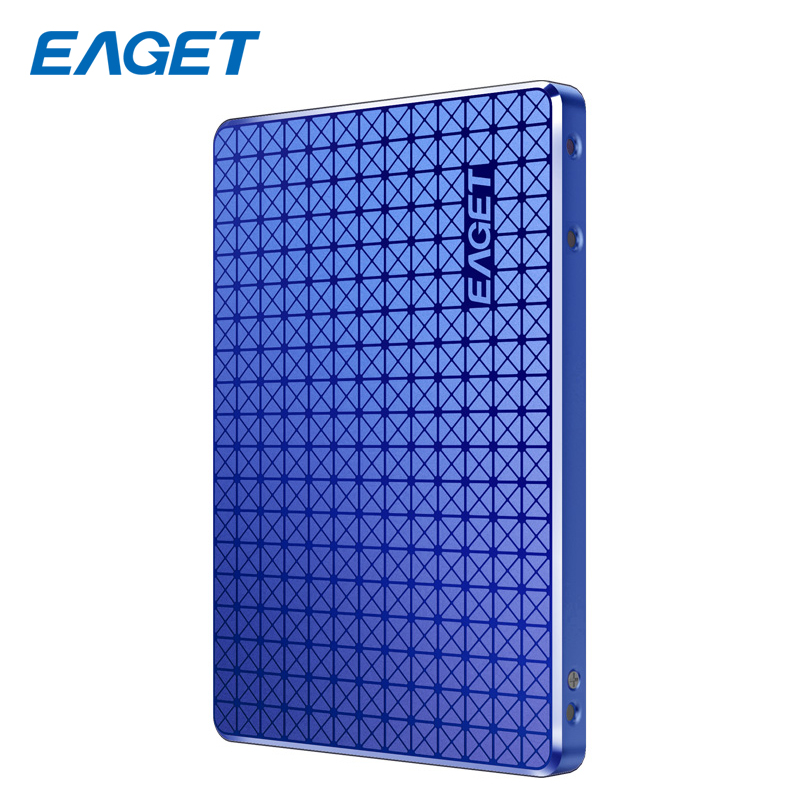 цена на EAGET SSD SATA 3.0 120GB External Hard Drive Disk HD HDD 2.5 Inch SSD 240GB External Solid State Drive For Desktop Laptop PC
