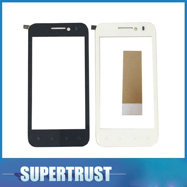 4.0 Inch For Huawei Honor U8860 Touch Screen Digitizer Front Glass Lens Sensor Panel Black White Color With Tape