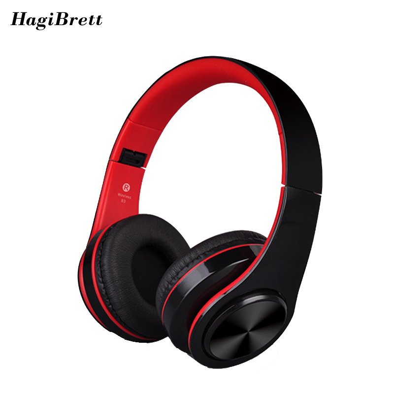 Bass Handsfree Wireless Bluetooth Headphones For Phone Computer Gaming Music Noise Canceling Headphone with Microphone MP3 Bep43