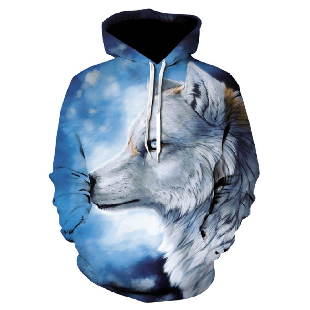 Devin Du New Fashion Wolf Hoodies Men/women 3d Sweatshirts Print Wolf Thin Hoody Hooded Hoodies Tracksuits Tops drop ship