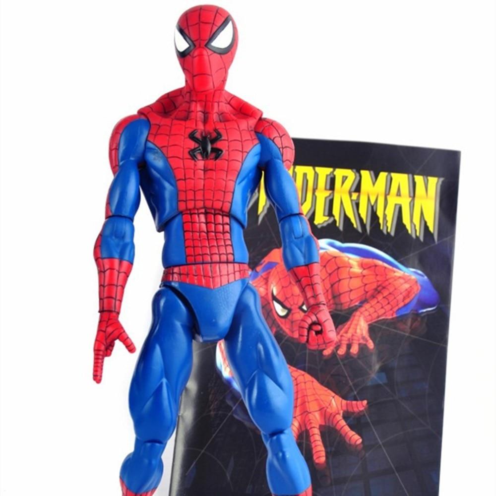 The Amazing Spider-Man Movie Spiderman 12 30CM PVC Action Figure Toys карандаши spider man 12 цветов