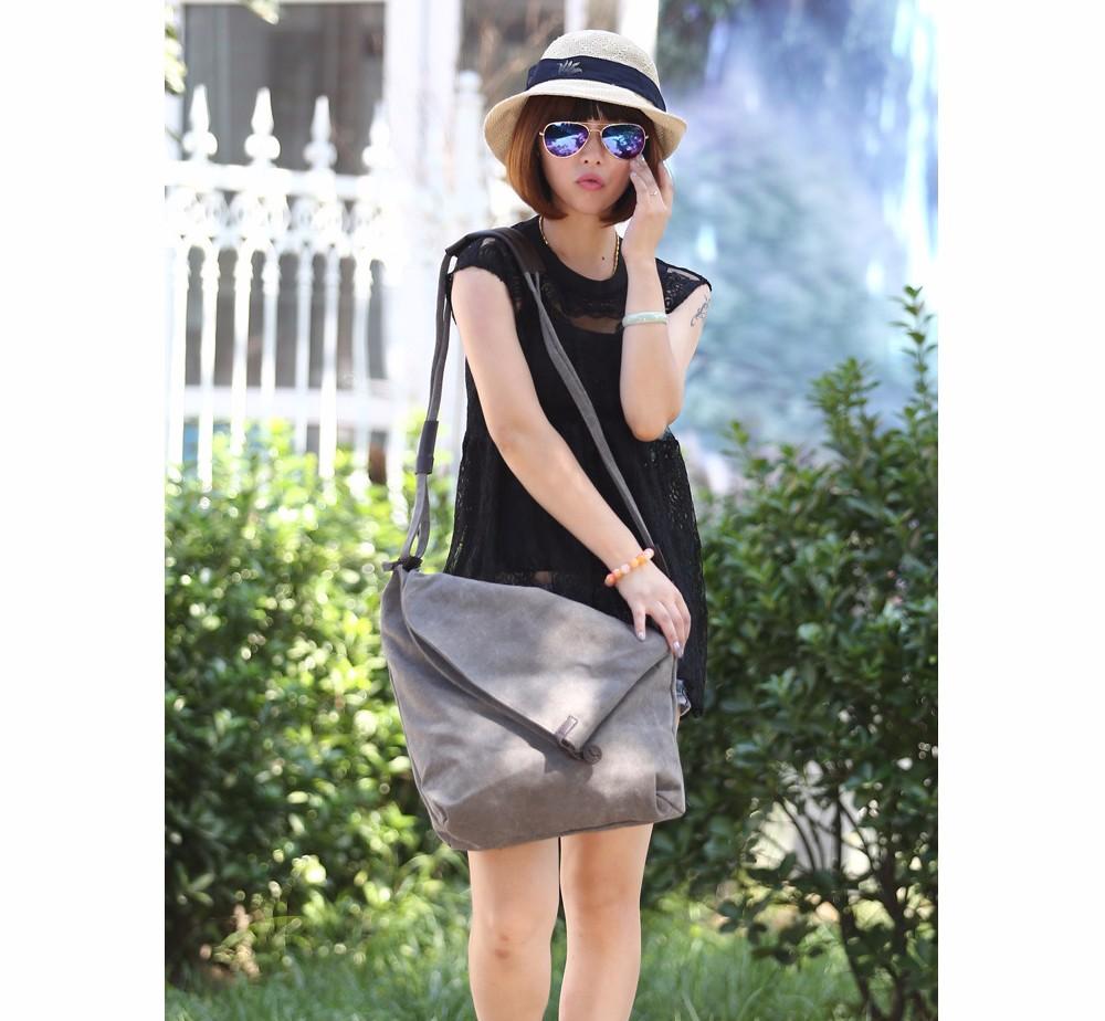 Vintage Canvas Shoulder Bag European And American Style Casual Unisex Handbag Men Women Retro Large Capacity Messenger Bags TTOU (2)