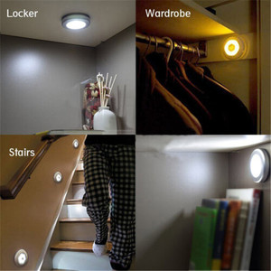 Image 3 - 6 LED Light Lamp PIR Auto Sensor Motion Detector Wireless Infrared Use In  Home Indoor wardrobes/cupboards/drawers/ stairway