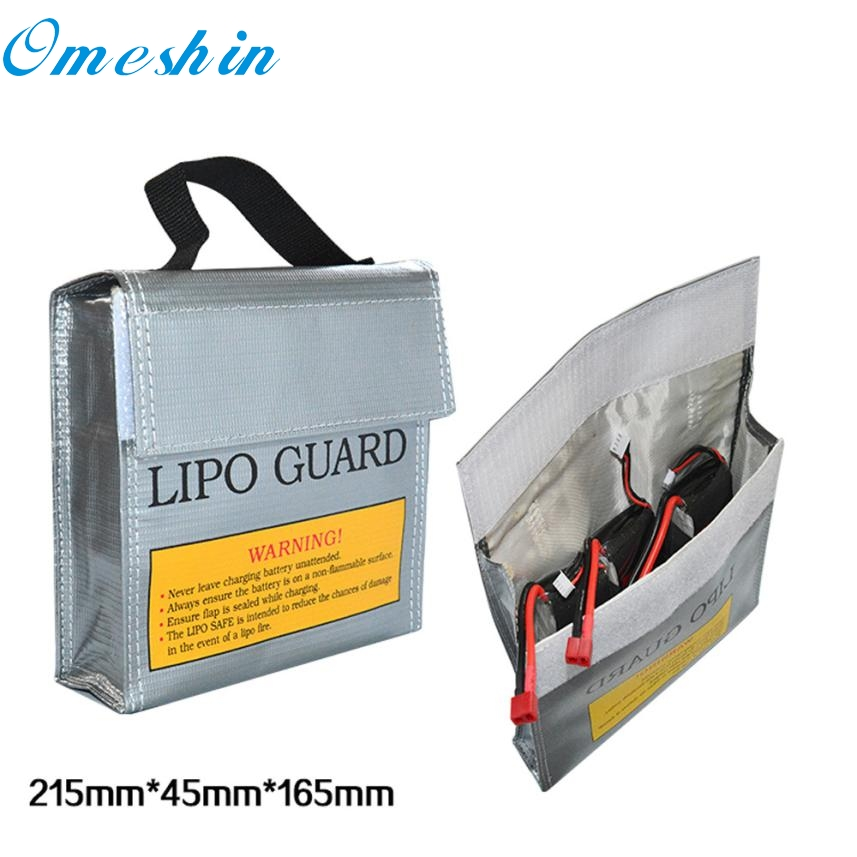 Drone backpack Waterproof High quality LiPo Li-Po Battery Fireproof Safety Guard Safe Bag 5*5*5MM partes S40 DB16