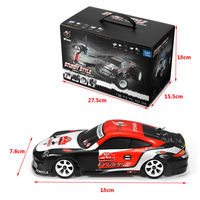 1/28 2.4G 4WD 30km/h High Speed Drift Racing Car SUV Toy Brushed Drift Car K969 Brushed RC Car for kids