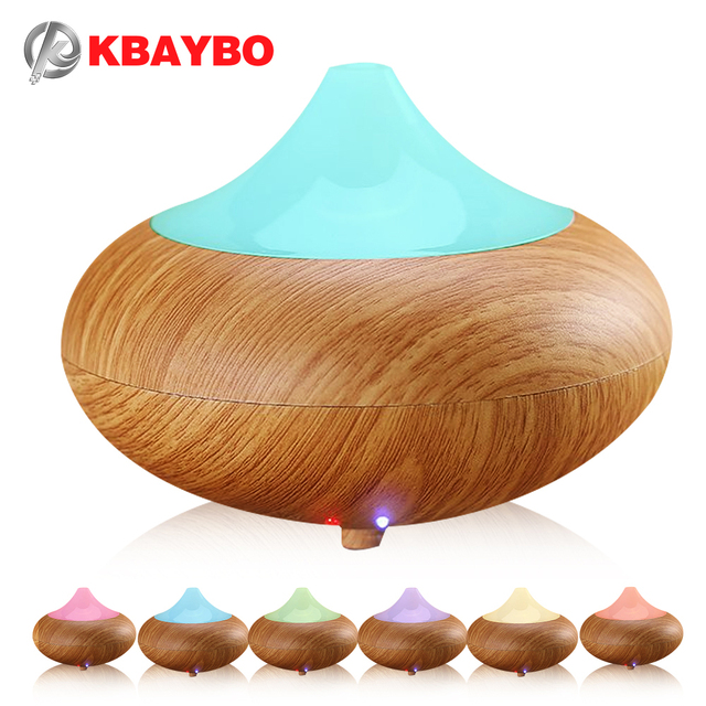 Aromatherapy Diffuser Air Humidifier 7 Color LED Night Light Ultrasonic Humidifier Air Aroma Diffuser Mist Maker