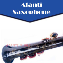 Afanti Music Bb tone / Brass body / Gold finish Soprano Saxophone (ASE-391)
