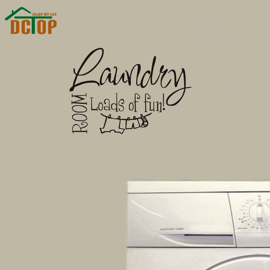 The Laundry Room Loads Of Fun Decal Dctop Laundry Room Loads Of Fun Wall Art Decals Quote House