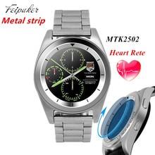 Tira de metal no. 1 g6 smart watch mtk2502 smartwatch bluetooth deporte 4.0 tracker llamada running pulsómetro para android ios