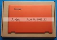 Yeni Orijinal Lenovo Yoga için 13 Lcd Kapak Arka Kapak Case Arka ile Turuncu 11S30500244 30500244 Logosu