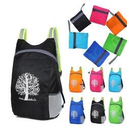Горячий унисекс складной рюкзак сумка для походов ультра освещение свет открытый спортивный рюкзак водостойкий складной рюкзак для