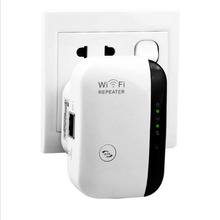 Nuevo Wireless-n AP Wifi Del Repetidor 802.11b/g/n de Red Wifi Router Expander Señal Wi-fi Antena Extendida repetidores 300 Mbps UE