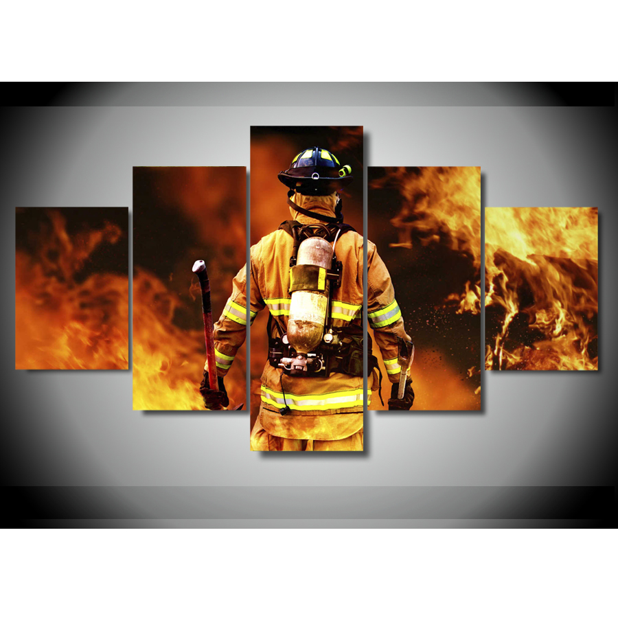 Firefighter Wall Art popular fireman wall art-buy cheap fireman wall art lots from