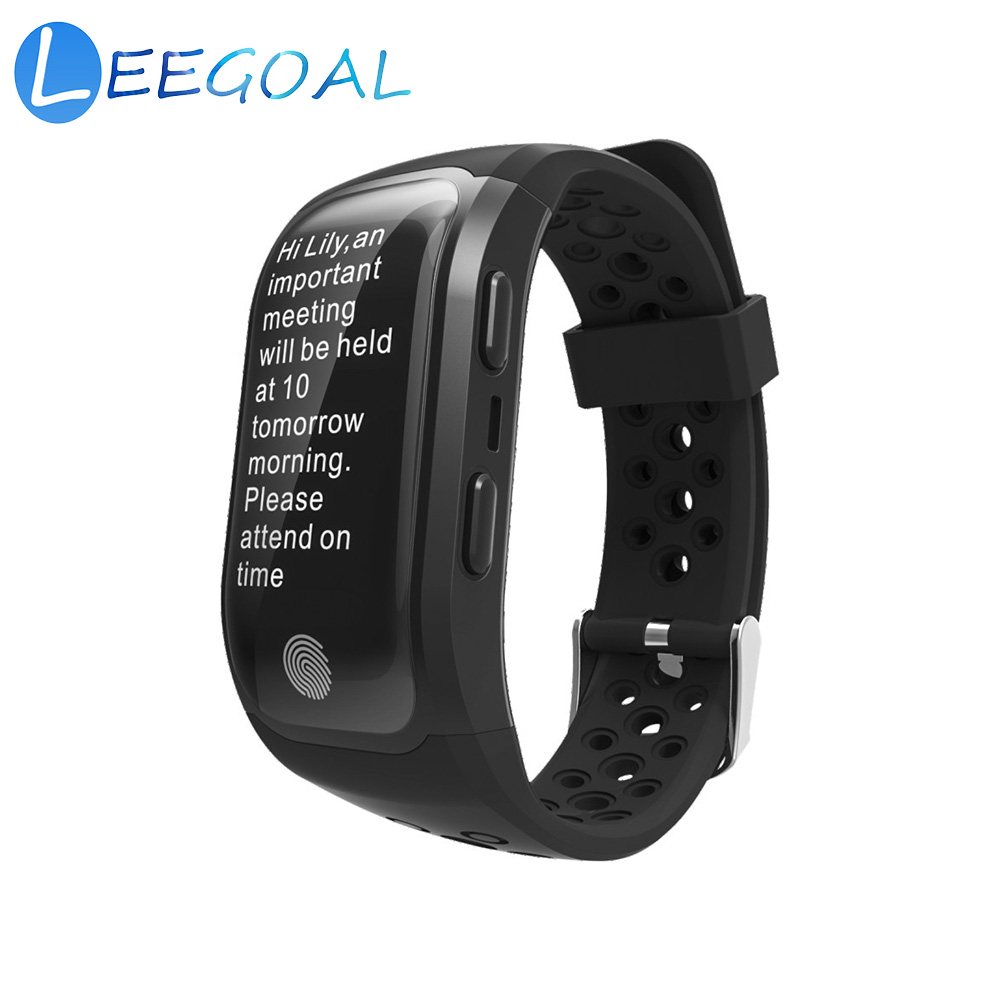 Smart Watch S908 Sport Wristband 0.96 OLED Touch Screen IP68 Waterproof Fitness Tracker Smart Watch Heart Rate Sleep Monitor GPS