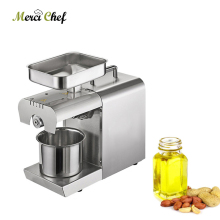 купить ITOP Stainless Steel Oil Presser Home Use Oil Press Machine Peanut/Olive Oil Maker 220V/110V Suitable For Sesame/Almond IT-15 дешево
