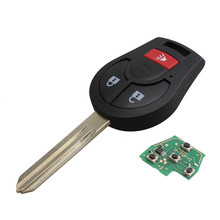 3 Buttons 315MHZ New Remote Head Key For Nissan Oem Factory Keyless Entry 46 Chip Fob Transmitter For CWTWB1U751 H0561-C993A