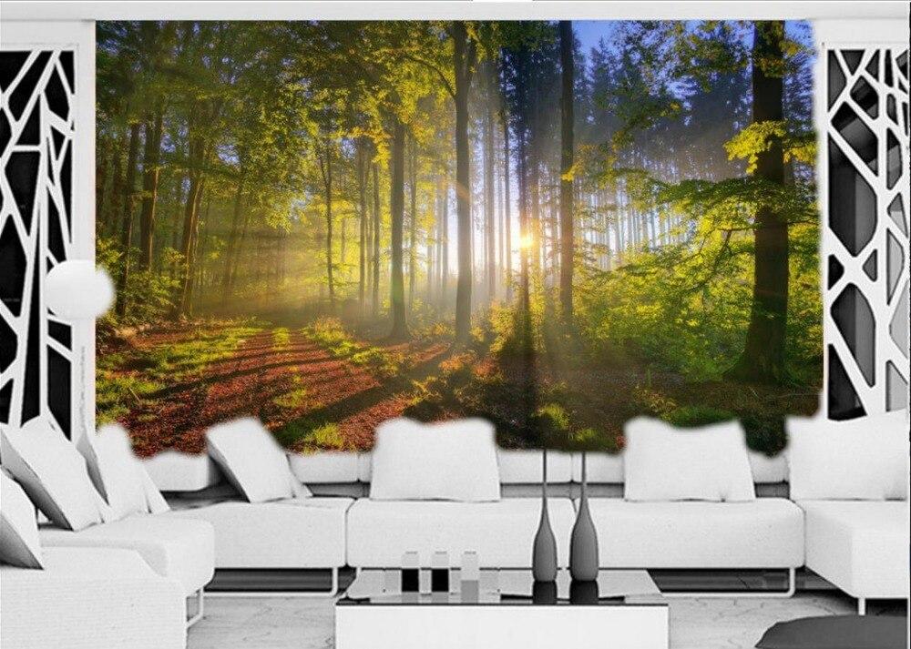 Parede papel mural papel pintado paisajes naturaleza im genes 3d habitaci n wallpaper paisaje - Papel pintado paisajes ...