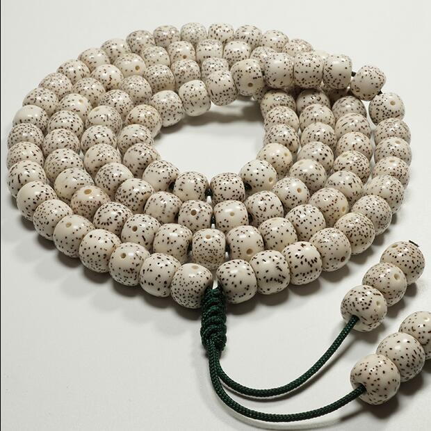 Xingyue Bodhi 108 premier mois lunaire naturel Hainan cheveux haute densité bracelet perles baril pomme perles Bodhi enfant hommes et femmes